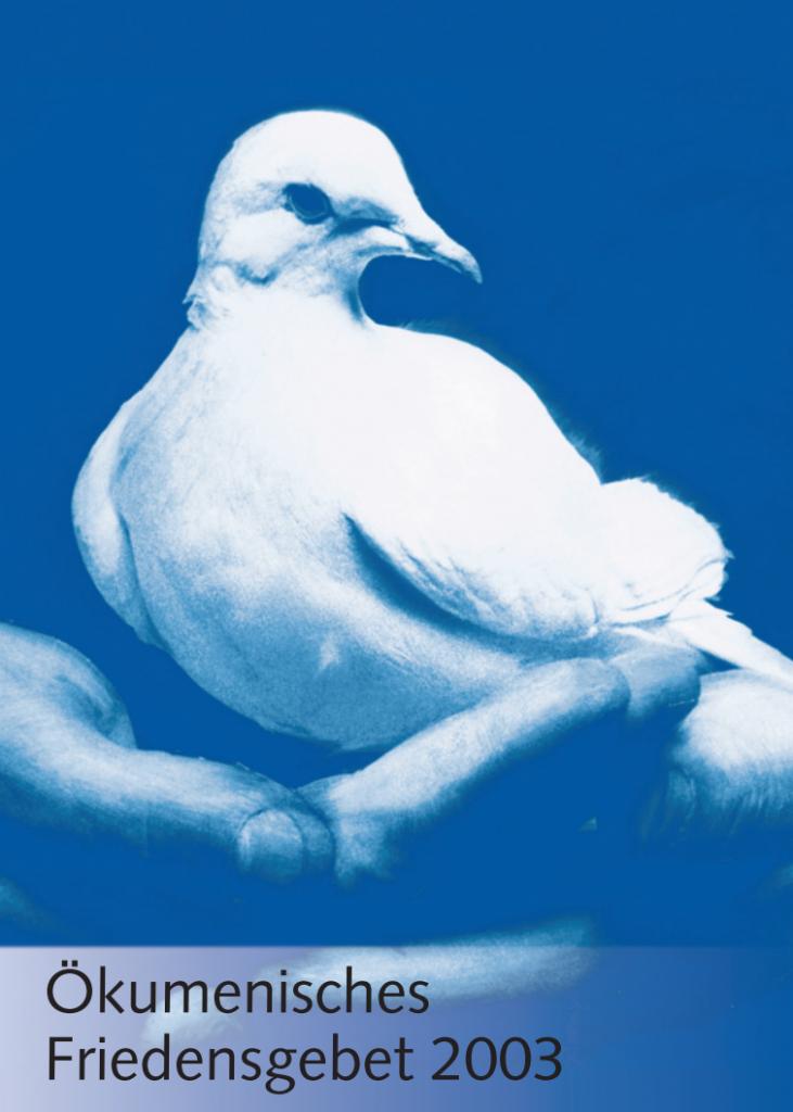 Ökumenisches Friedensgebet 2003 (Titel) | Foto: missio